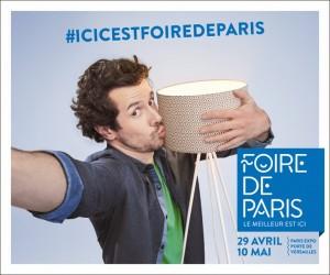 Affiche Foire de Paris : le rendez-vous Gastro, Culture, Déco