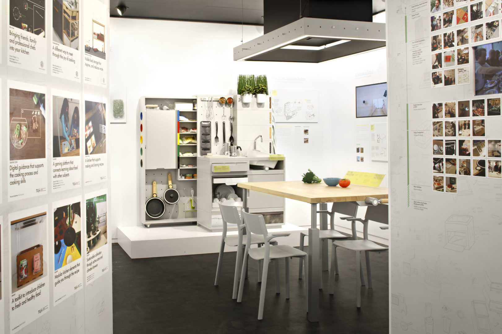 ikea imagine une cuisine ultra connect e pour 2025 food geek love. Black Bedroom Furniture Sets. Home Design Ideas