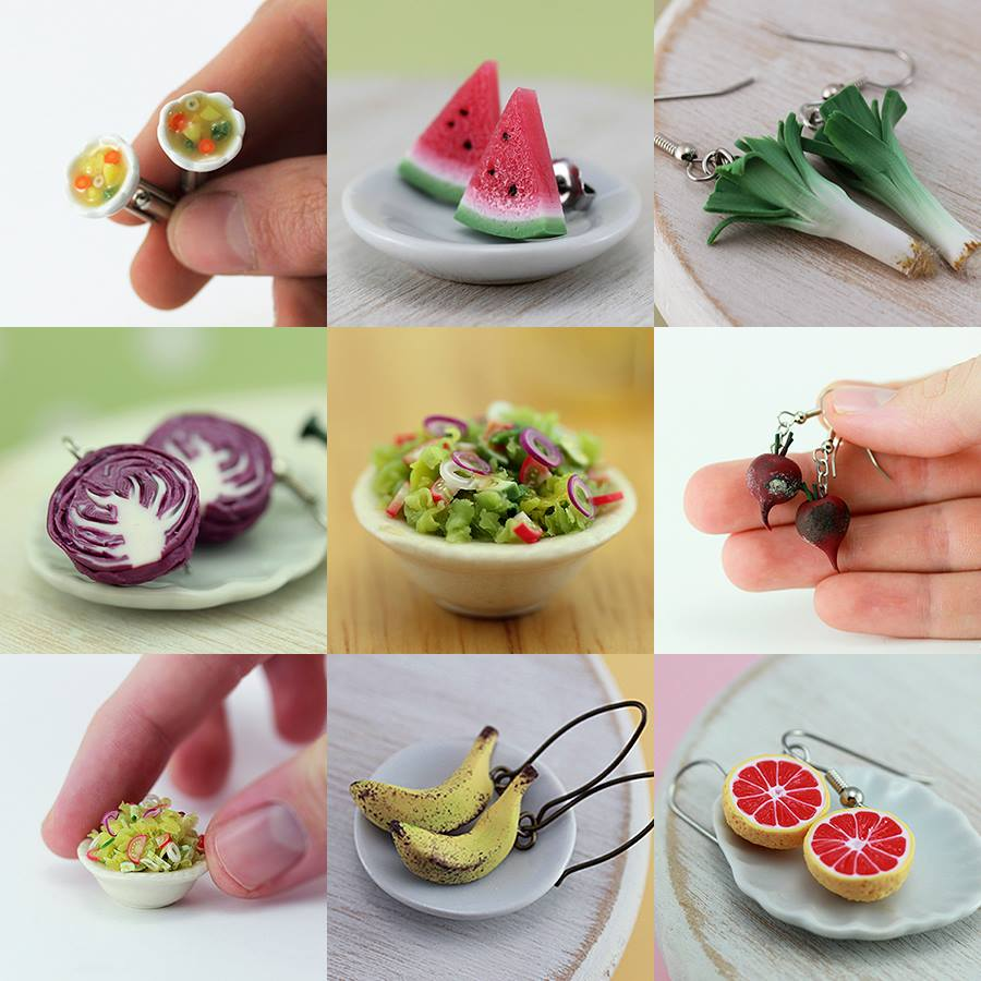 Un artiste réalise des gourmandises de la taille de vos doigts