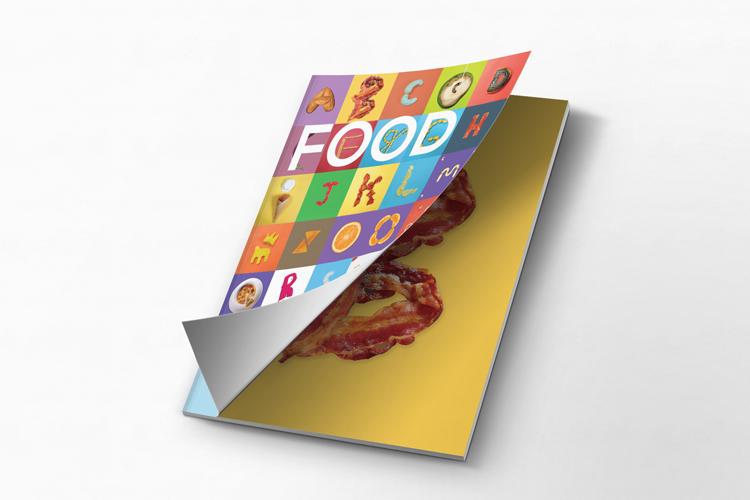Couverture de livre en food