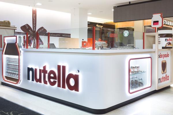 Un bar Nutella à Sao Paulo