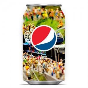 """Une canette Pepsi pour le challenge """"Live for Now"""""""