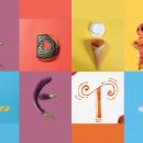 Alphabet en composition culinaire