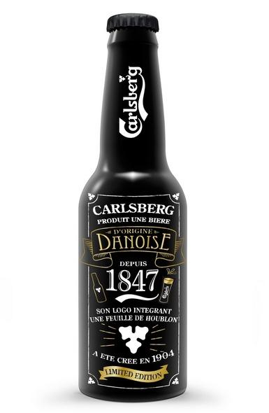 La Carlsberg Night Bottle