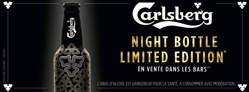 Une nouvelle bouteille qui brille en boîte de nuit pour Carlsberg