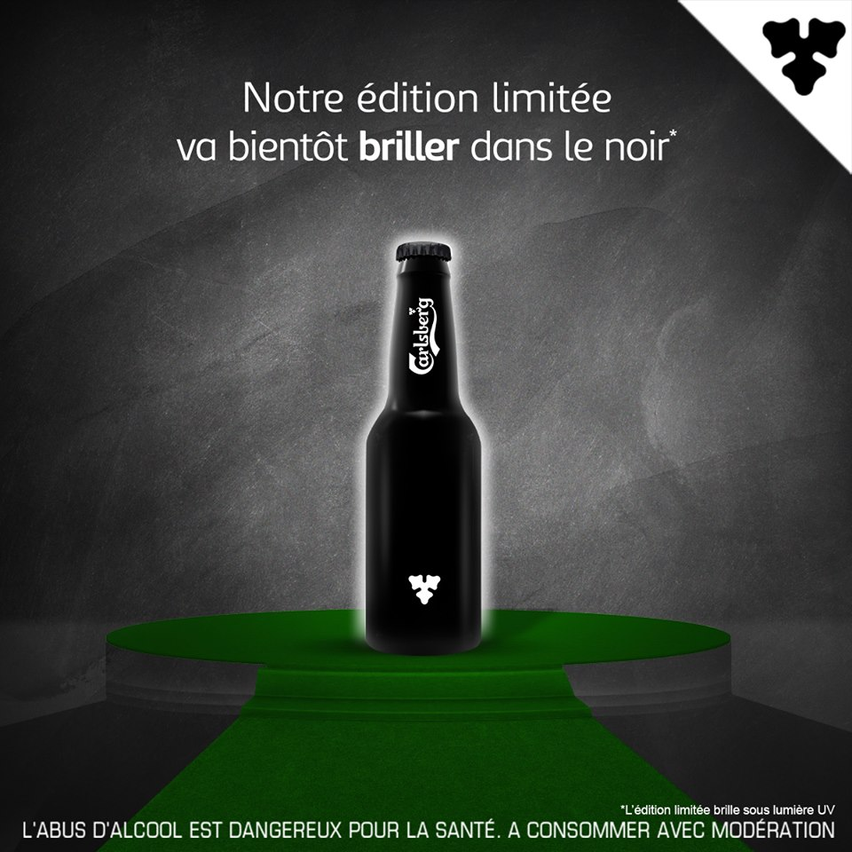 Le Carlsberg Night Bottle