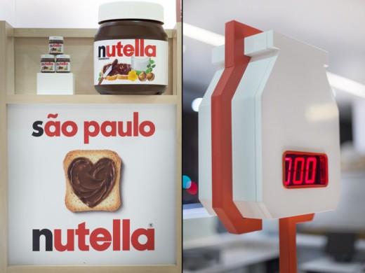 Le bar à Nutella au brésil à Sao Paulo