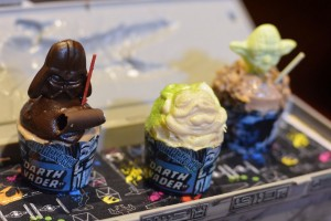 Des Cupcakes Star Wars