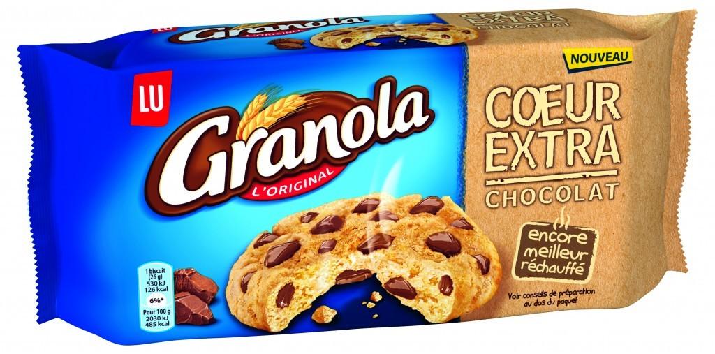 Le nouveau cookie de Granola avec son cœur extra tendre