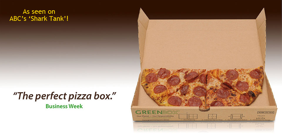 GreenBox, la boîte à Pizza écologique et pratique