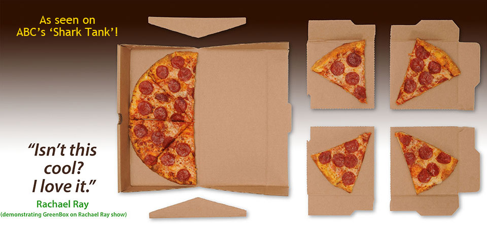 GreenBox, un nouveau packaging pour pizza