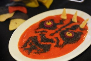 Le Hummus Dark Maul au restaurant Star Wars d'Orlando