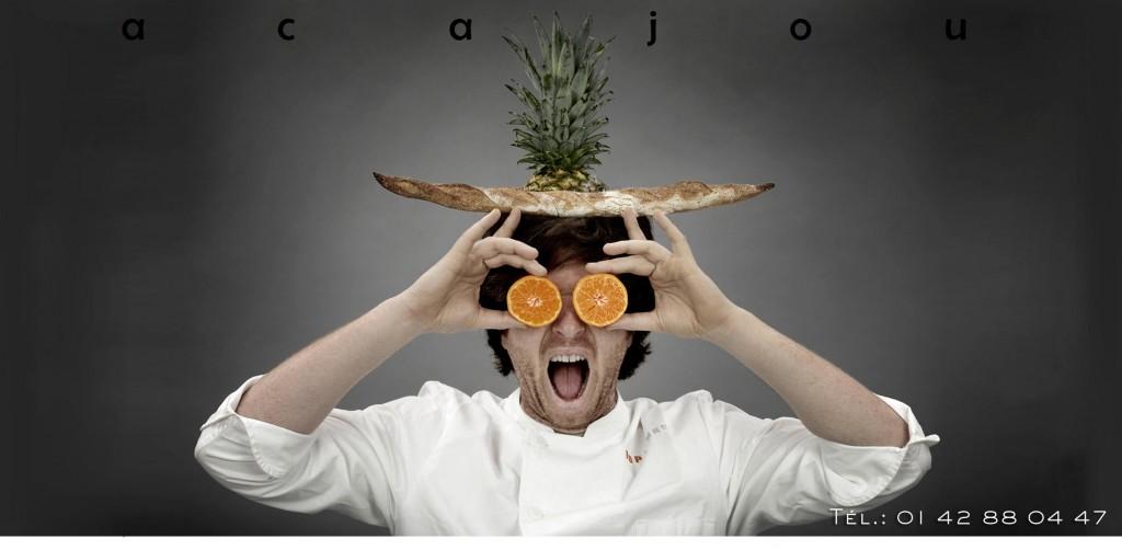 Jean Imbert, et son restaurant L'Acajou