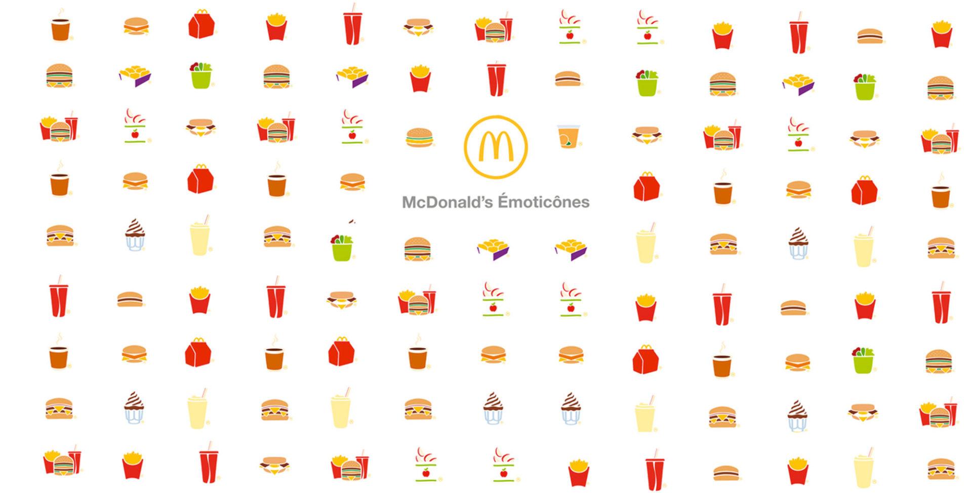 McDonald's France lance un nouveau clavier, McDonald's Émoticônes !