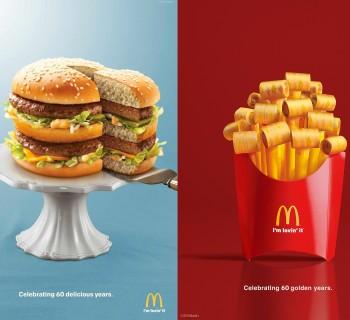 Des prints festifs pour les 60 ans de McDonald's