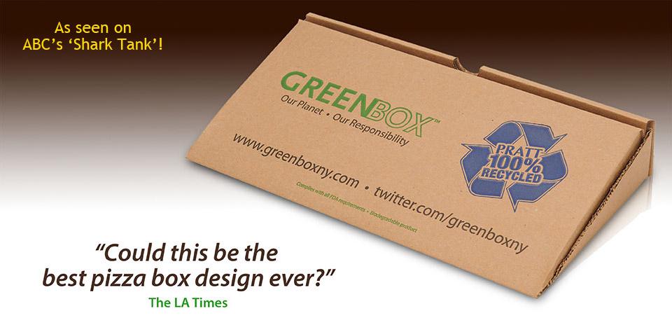 Une boîte à Pizza écologique et pratique