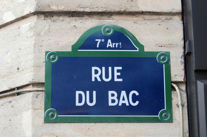 Mon petit tour des p tisseries parisiennes nutrigood - Poltrona frau rue du bac ...