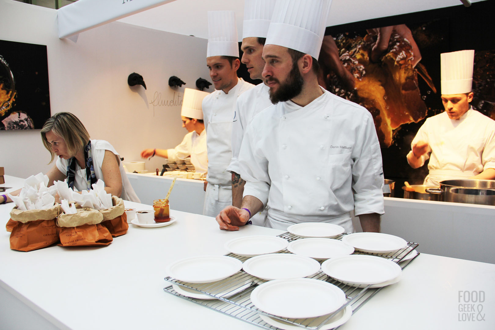 Le chef Massimiliano Alajmo à Taste of Paris 2015