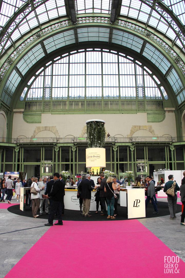 L'entrée du Grand Palais pour Taste of Paris 2015