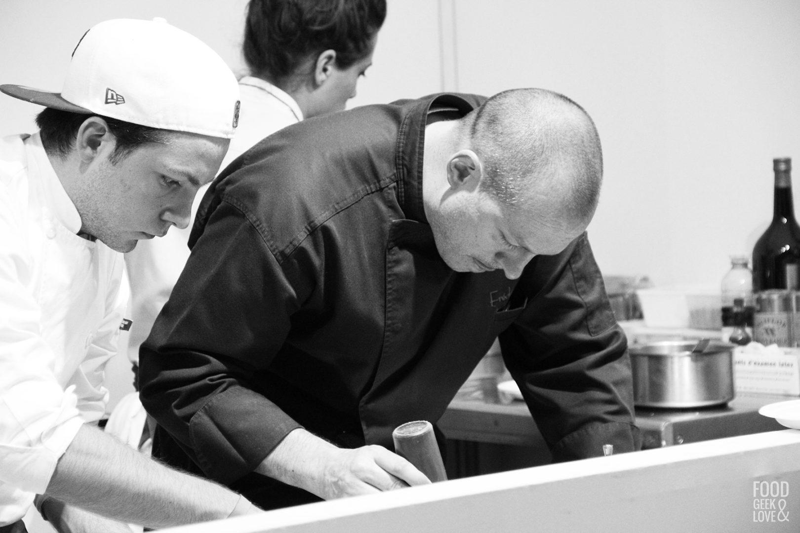 Le chef Frédéric Simonin à Taste of Paris 2015