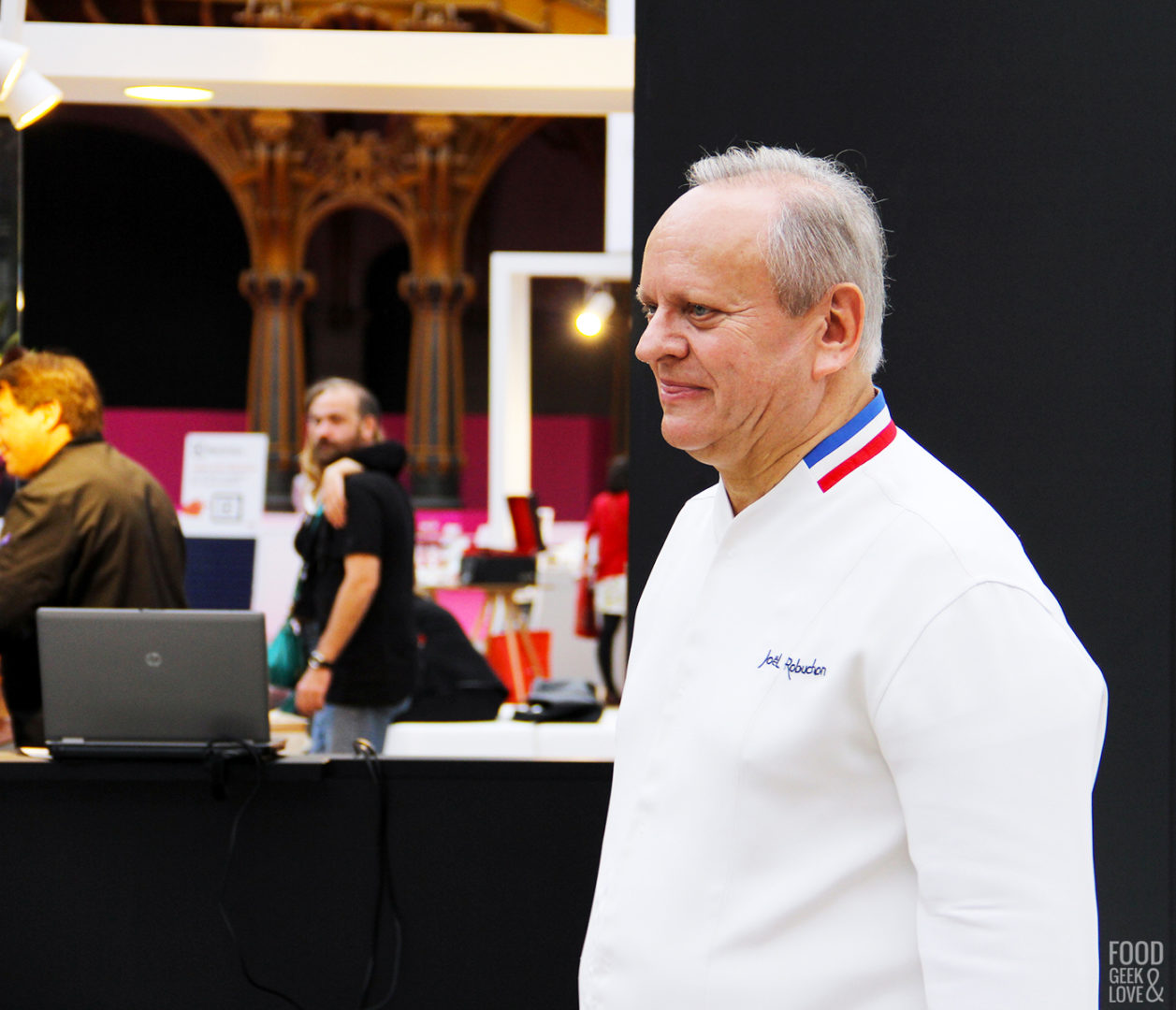 Le chef Joël Robuchon à Taste of Paris 2015