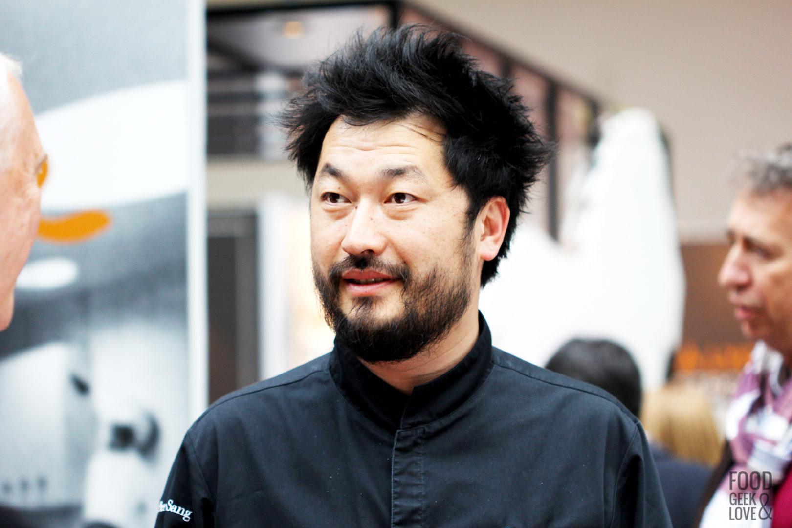 Le chef Pierre Sang Boyer à Taste of Paris 2015