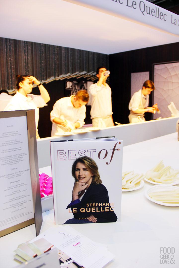 Le stand de Stéphanie Le Quellec à Taste of Paris 2015