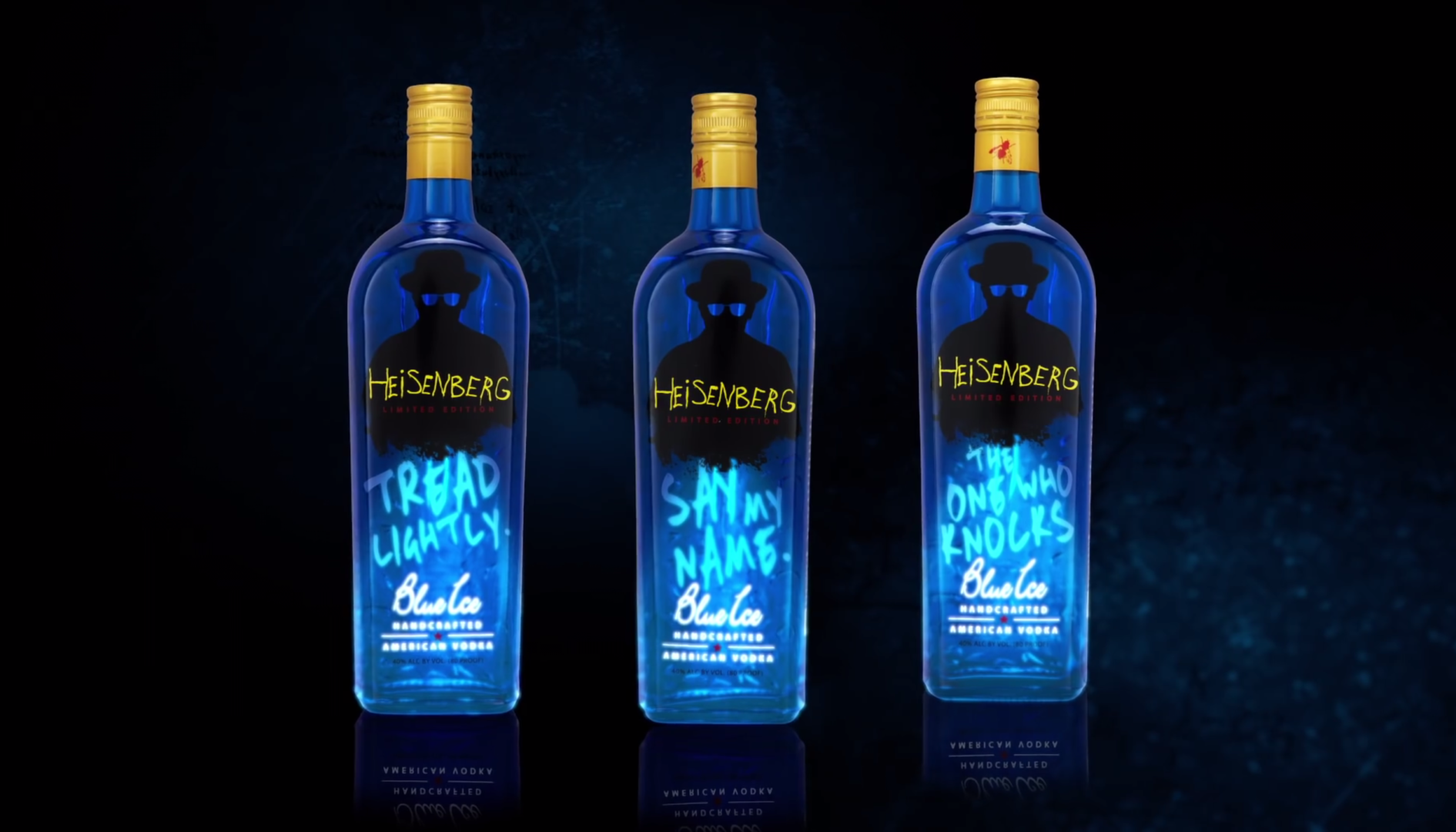 Heisenberg Blue Ice, la vodka version Breaking Bad