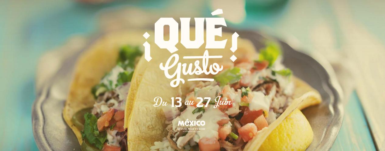 ¡Qué Gusto!, le tout premier festival de gastronomie mexicaine à Paris