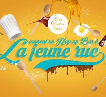 Le Hop Up Bar célèbre bière et gastronomie à Paris du 4 au 18 juillet !