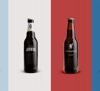Des bières inspirées de grands clubs de Football