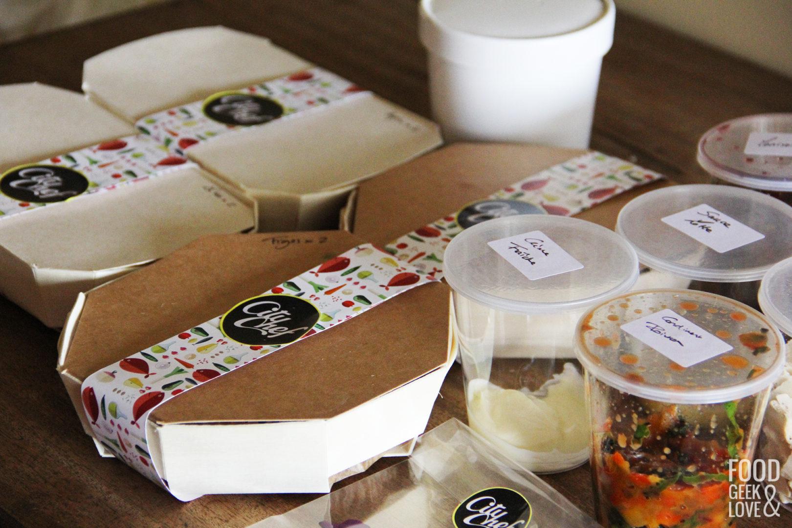On a dégusté CityChef : la livraison d'un repas gastronomique