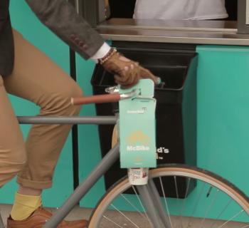 McDonald's crée un packaging spécialement conçu pour les vélos