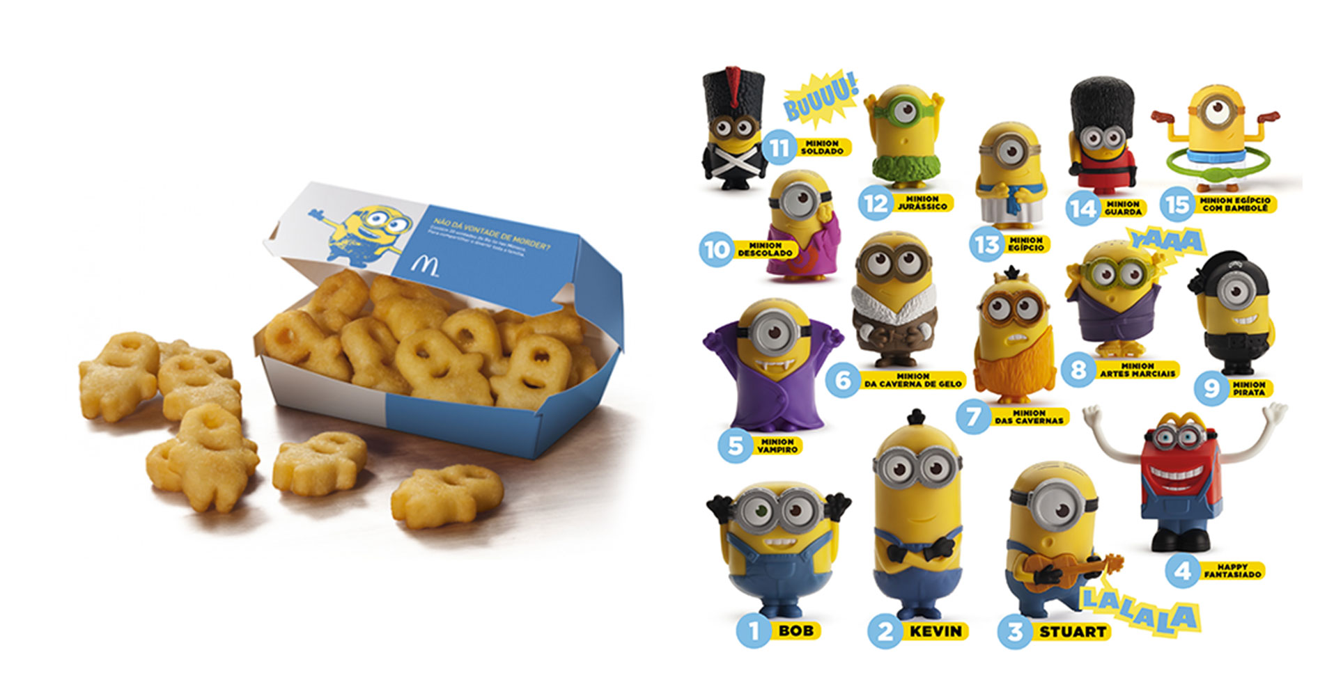 Les Minions s'invitent chez McDonald's !