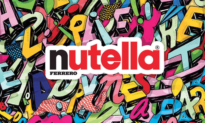 Un nouveau packaging coloré et créatif pour Nutella !