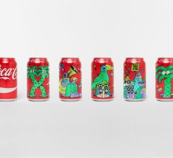 Packaging : un design coloré et festif pour Coca-Cola