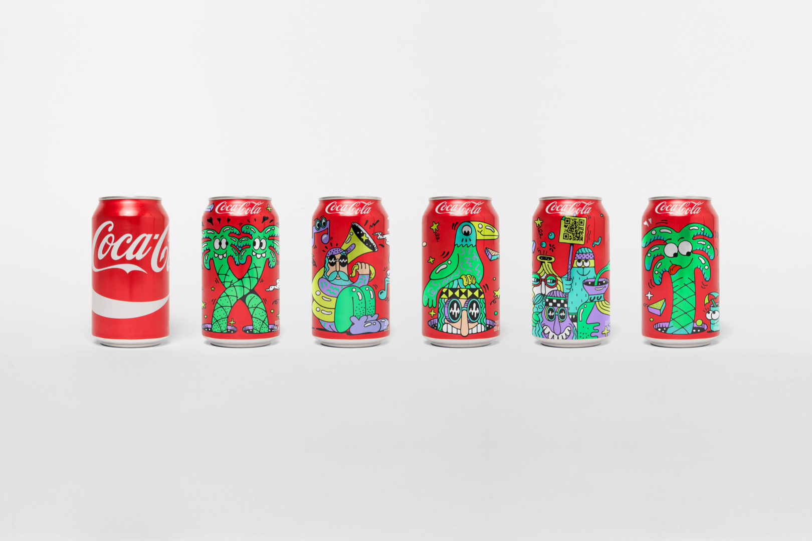 Packaging : un design coloré et festif pour Coca-Cola