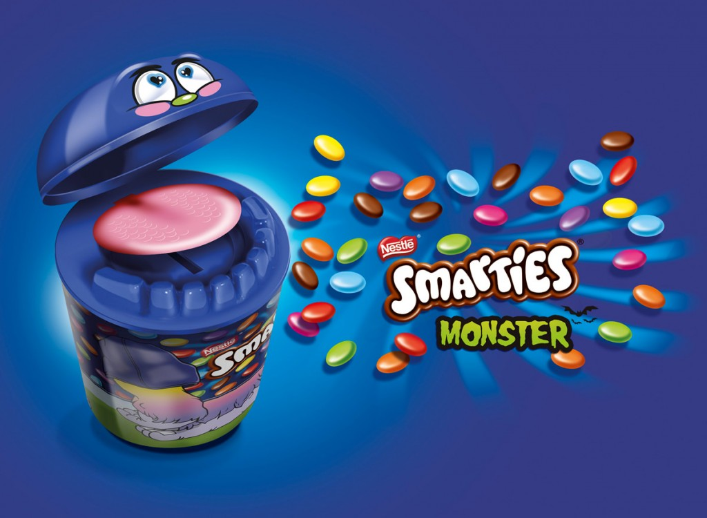 Les Smarties Monster en packaging