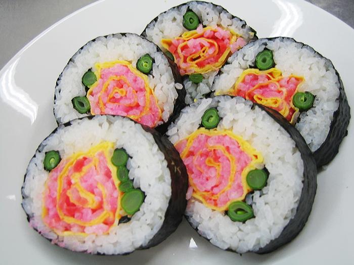 Quand le FoodArt envahit la planète sushi