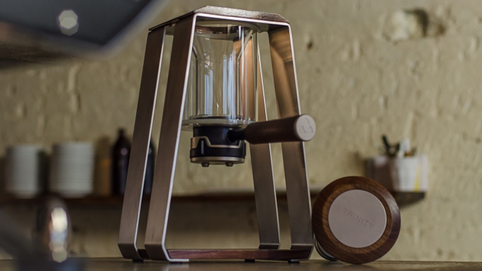 Trinity One, machine à café