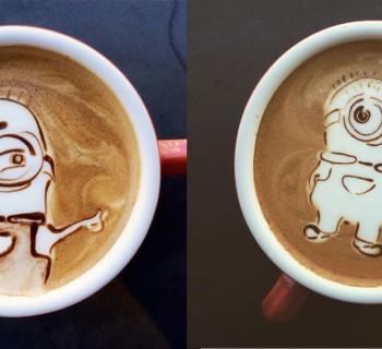 Les minions sont partout jusque dans votre latte !