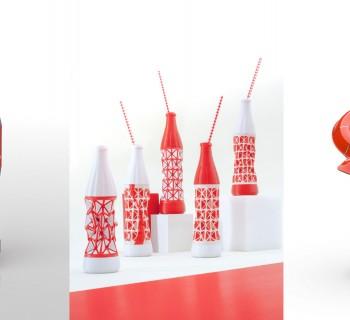 12 Designers réimaginent la célèbre bouteille Coca-Cola