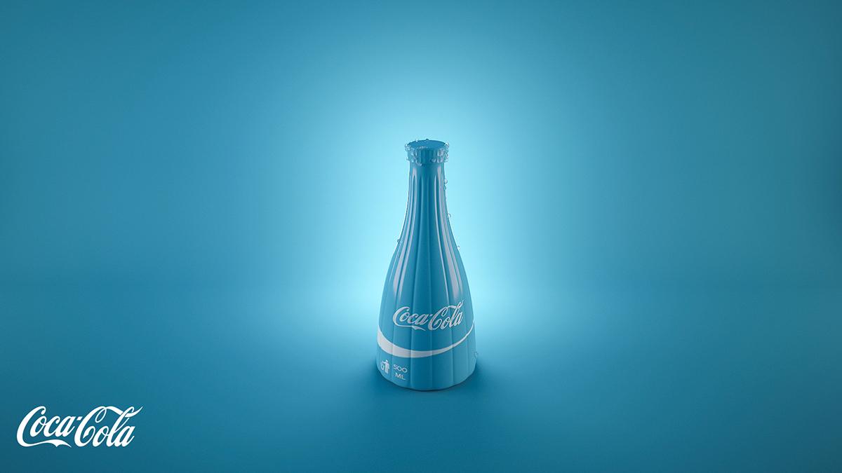 Un artiste imagine les bouteilles de Coca-Cola version fruitées