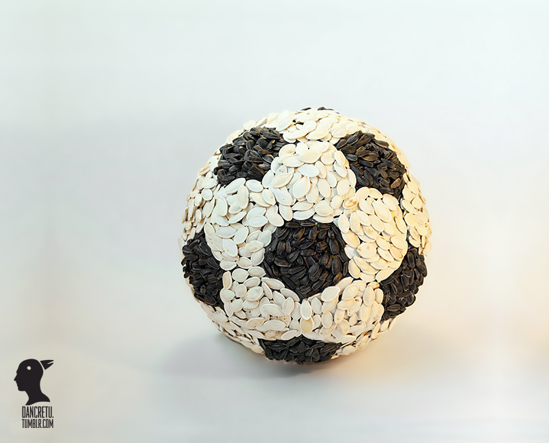 Le Food'Art en ballon de foot