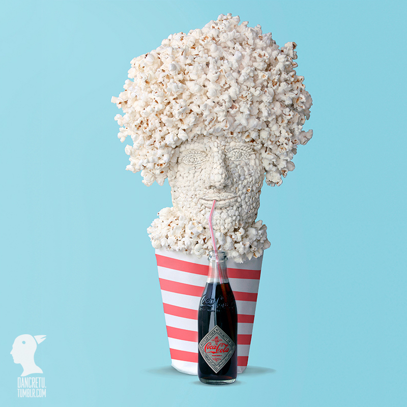 Food'Art et pop corn