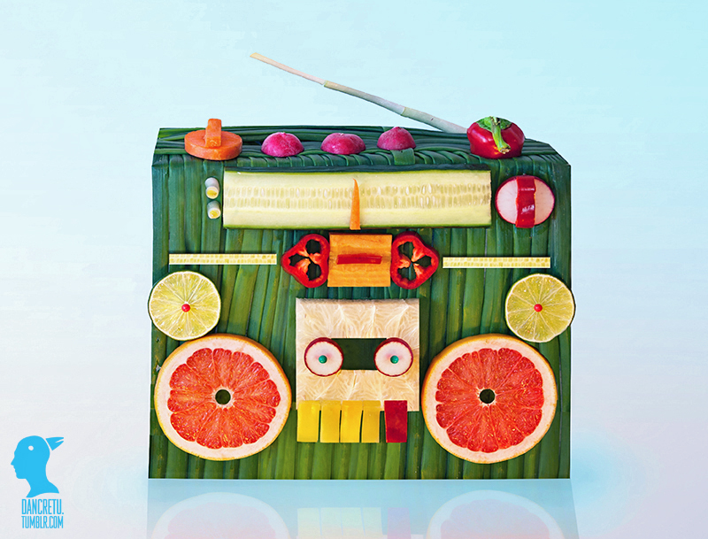 Food'Art poste de radio