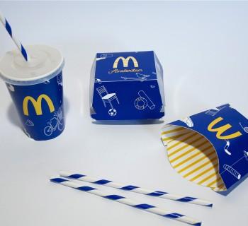 Un designer redessine l'identité visuelle de McDonald's Amsterdam !