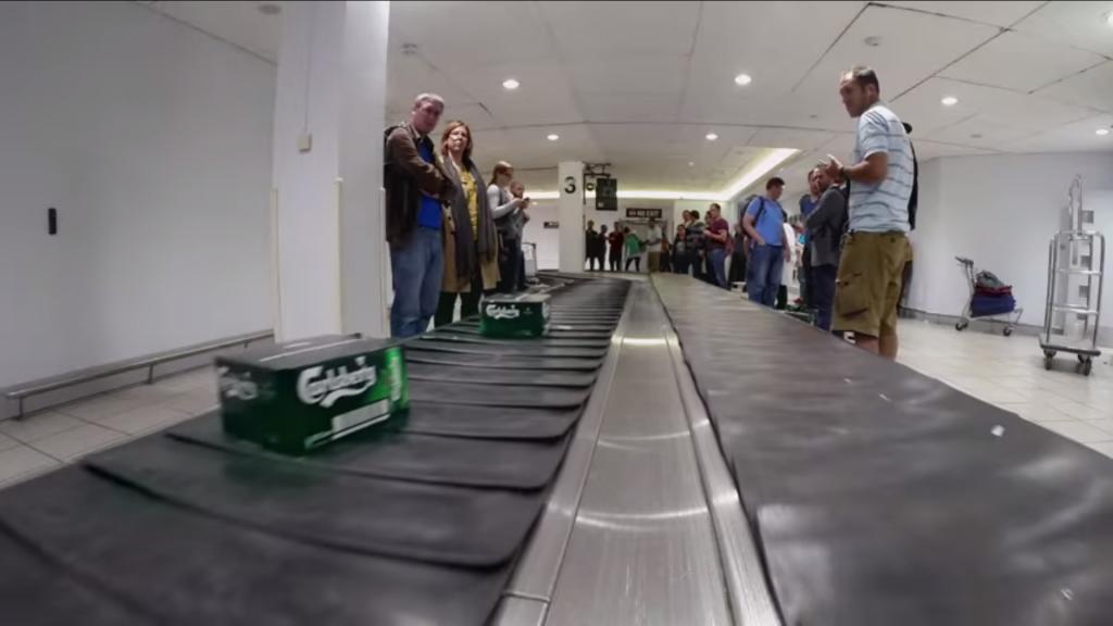 Carlsberg, opération en aéroport