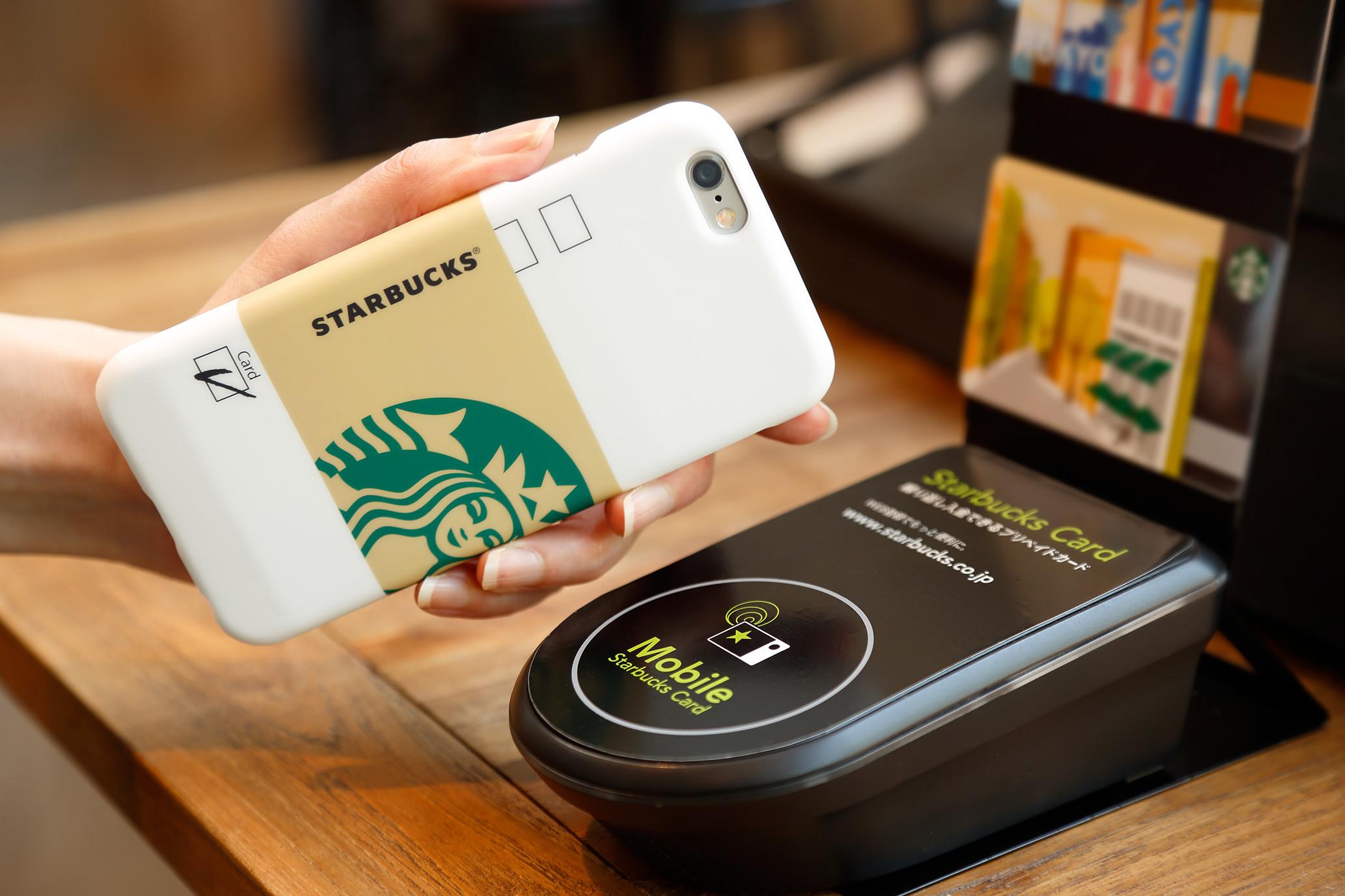 Une coque de smartphone pour payer votre Starbucks !