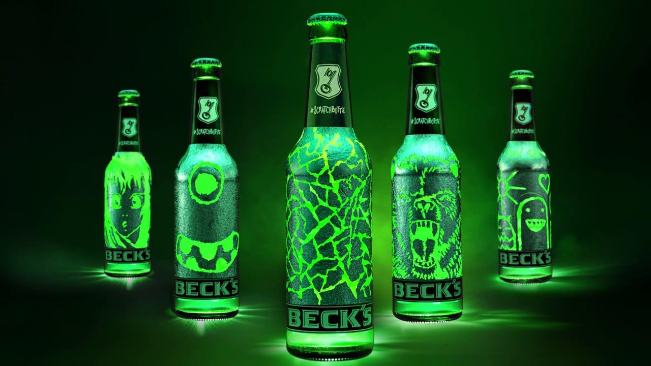 Scratchbottle, la bouteille de bière à gratter